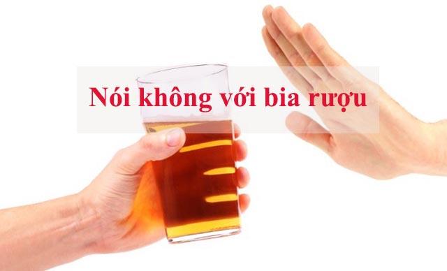 noi khong voi bia ruou
