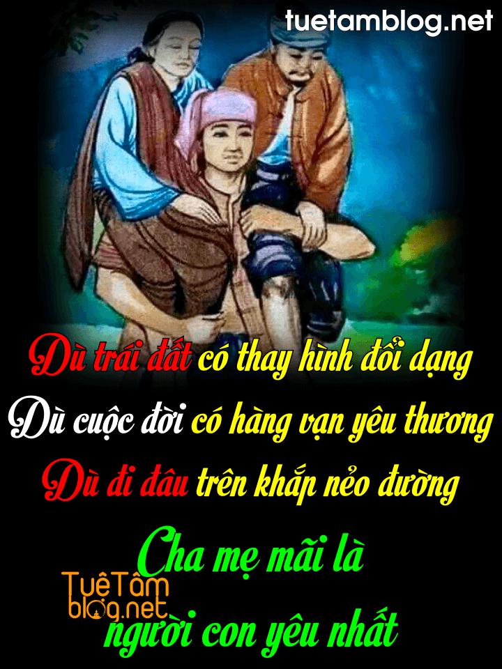 Cha mẹ mãi là người con yêu nhất