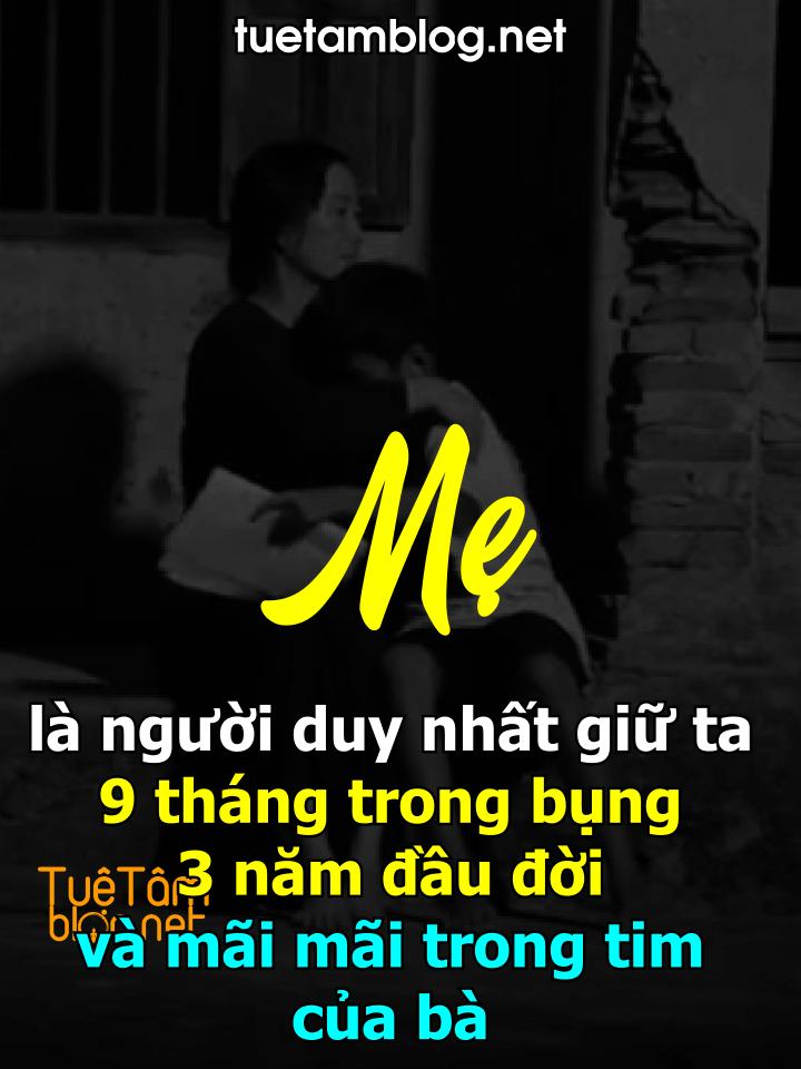 Mẹ là người duy nhất