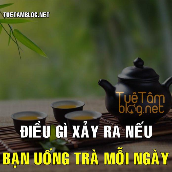 Điều gì xảy ra nếu bạn uống trà mỗi ngày